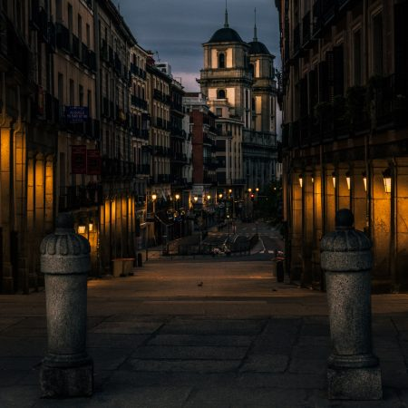 dawn in Madrid